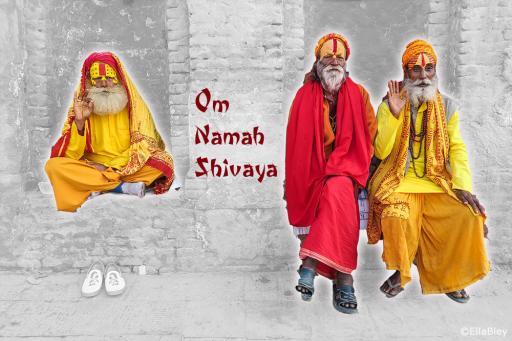 Yoga Mantra OM Namah Shivaya mit Gurujis