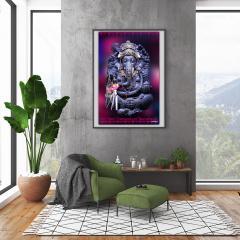 Ganesha der Glücksgott von allen Yogis beseitigt Hindernisse