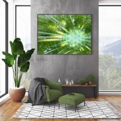 Blume des Lebens Bambuswald