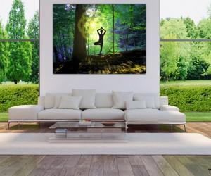 Wanddeko Lebensbaum Yogi