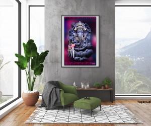 Bild Fotoleinwand Ganesha